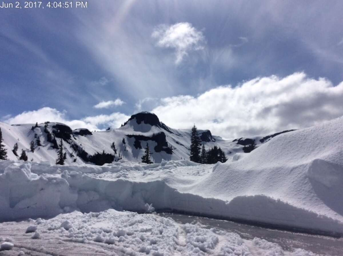 The Roosevelt Glacier sent two tongues curling around a cliff. Both glaciers have, however, rapidly receded of late. If you have anybody in the family who thinks climate change is a