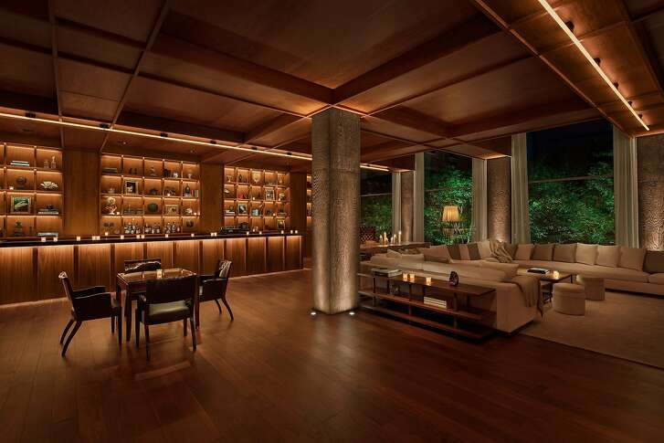 The Lobby Bar is one of three lounges in Public, a new Manhattan hotel that also includes Public Kitchen, a grill-themed restaurant by Jean Georges Vongerichten.