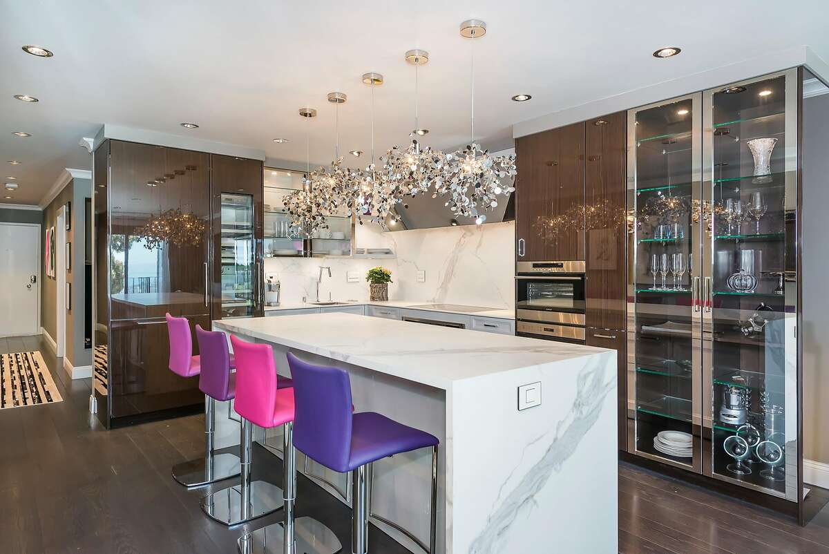 The kitchen experienced a extensive renovation prior to the the listing appearing on the market.