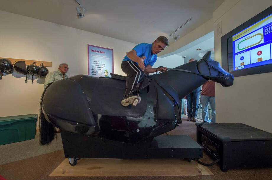 Ready to Ride simulator opens at Racing Hall of Fame - San