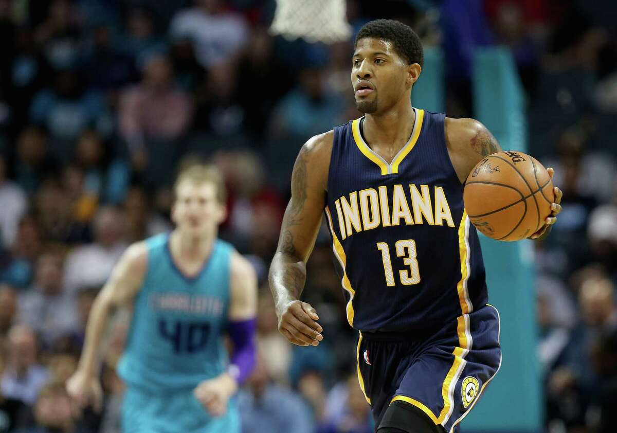 Talks between the Rockets and Pacers on All-Star forward Paul George have slowed.