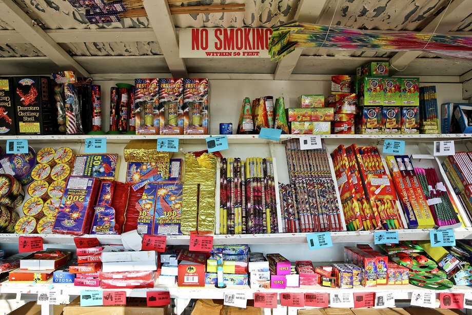 About 96 percent of the fireworks America shoots off are imported from China. Photo: Victor Strife