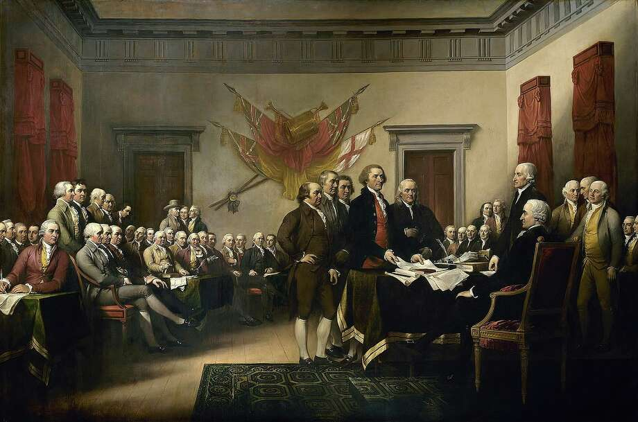 The signing of the Declaration of Independence. Photo: Common