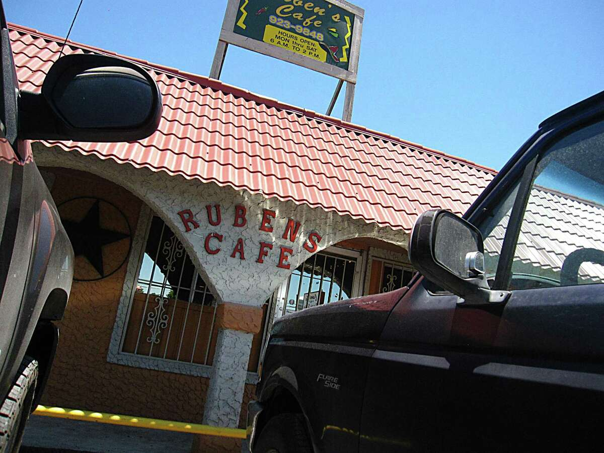 Ruben's Cafe on Commercial Avenue.
