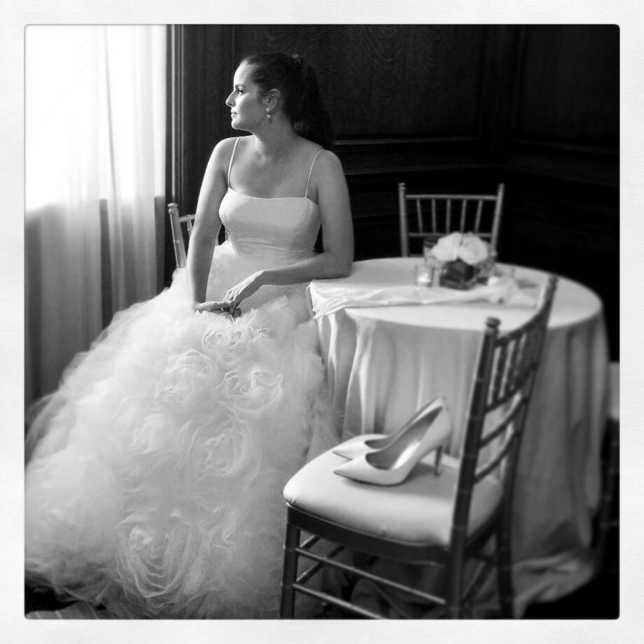 Debutante Madeline Moriarty at the San Francisco Debutante Ball at Westin St. Francis Hotel June 17. Photo: Catherine Bigelow, Special To The Chronicle
