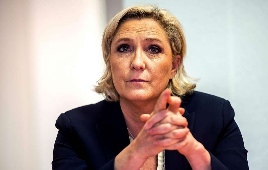 The charges against Marine Le Pen concern two aides when she served at the European Parliament. Photo: PHILIPPE HUGUEN, AFP/Getty Images