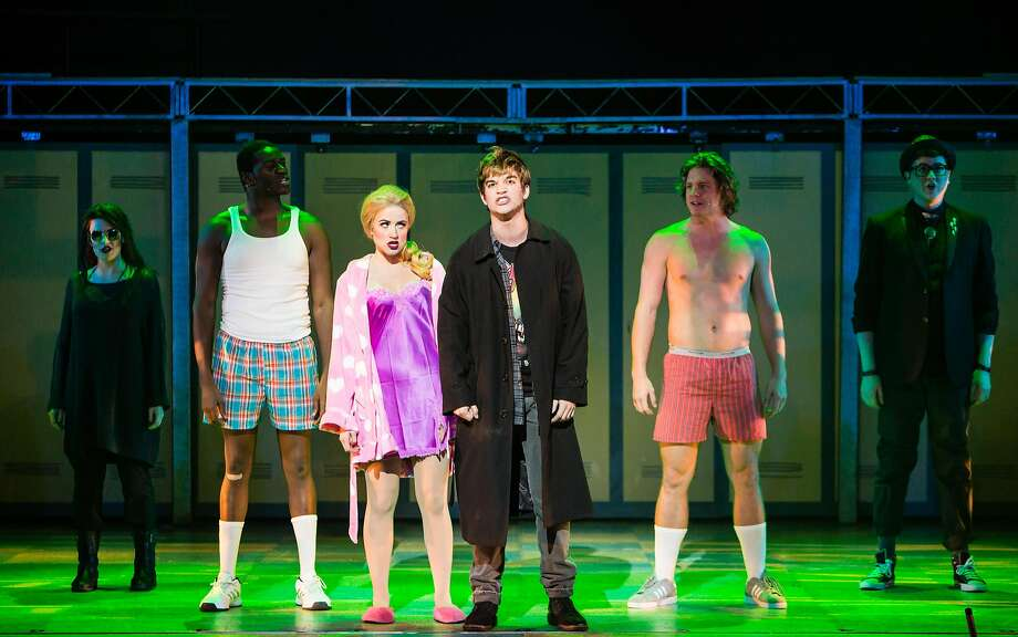 """A scene from """"Heathers: The Musical"""" at TUTS Underground. Photo: Christian Brown"""