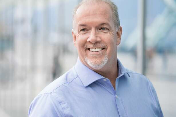 British Columbia politician John Horgan, pictured in a campaign photo.