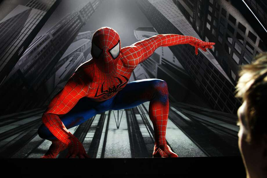 "A scene from ""Spider-man Turn Off The Dark."" Photo: Jacob Cohl"