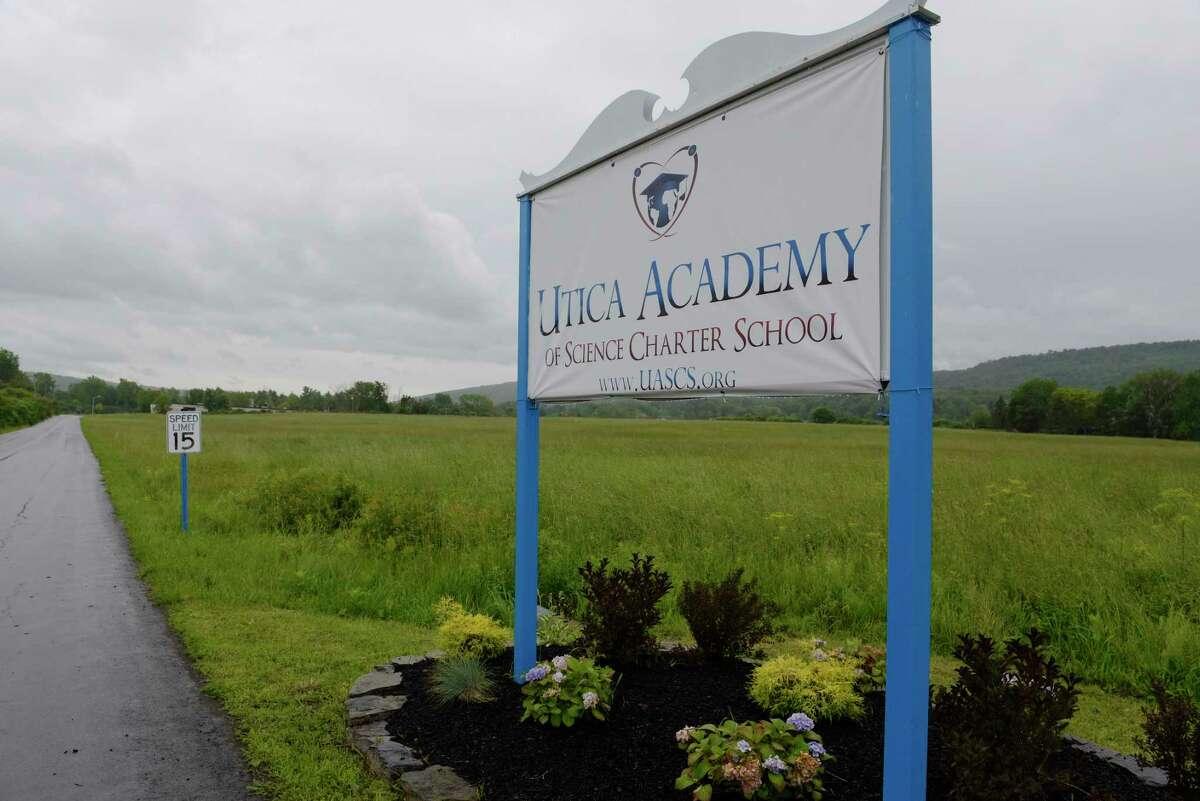 The Utica Academy Of Science Charter High School in Frankfort, N.Y. (Paul Buckowski / Times Union)