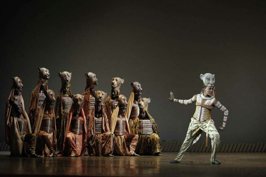 """Nia Holloway as Nala in the song """"Shadowland"""" in """"The Lion King"""" Photo: Joan Marcus"""