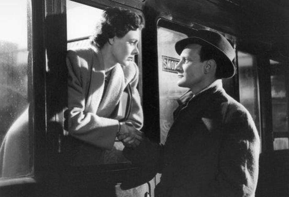"Celia Johnson and Trevor Howard in ""Brief Encounter."" Photo: Universal 1945"
