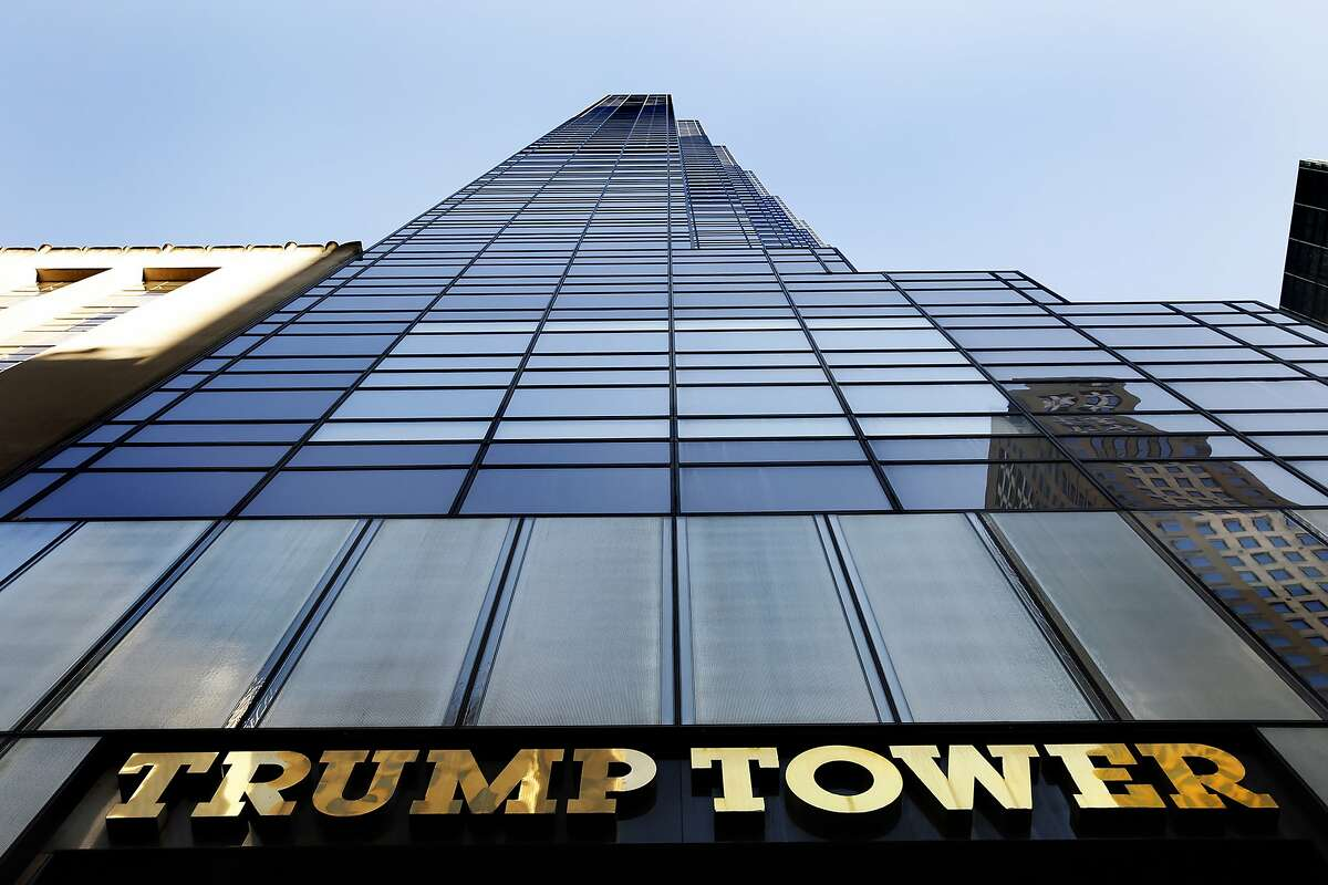Trump Tower in New York City. (Carolyn Cole/Los Angeles Times/TNS)