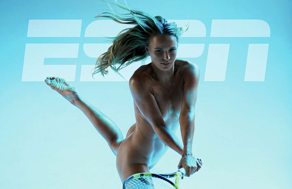 WARNING: Photos in the gallery display nudity and aren't suitable for all readers Caroline Wozniacki on the cover of ESPN The Magazine's 2017 Body Issue.