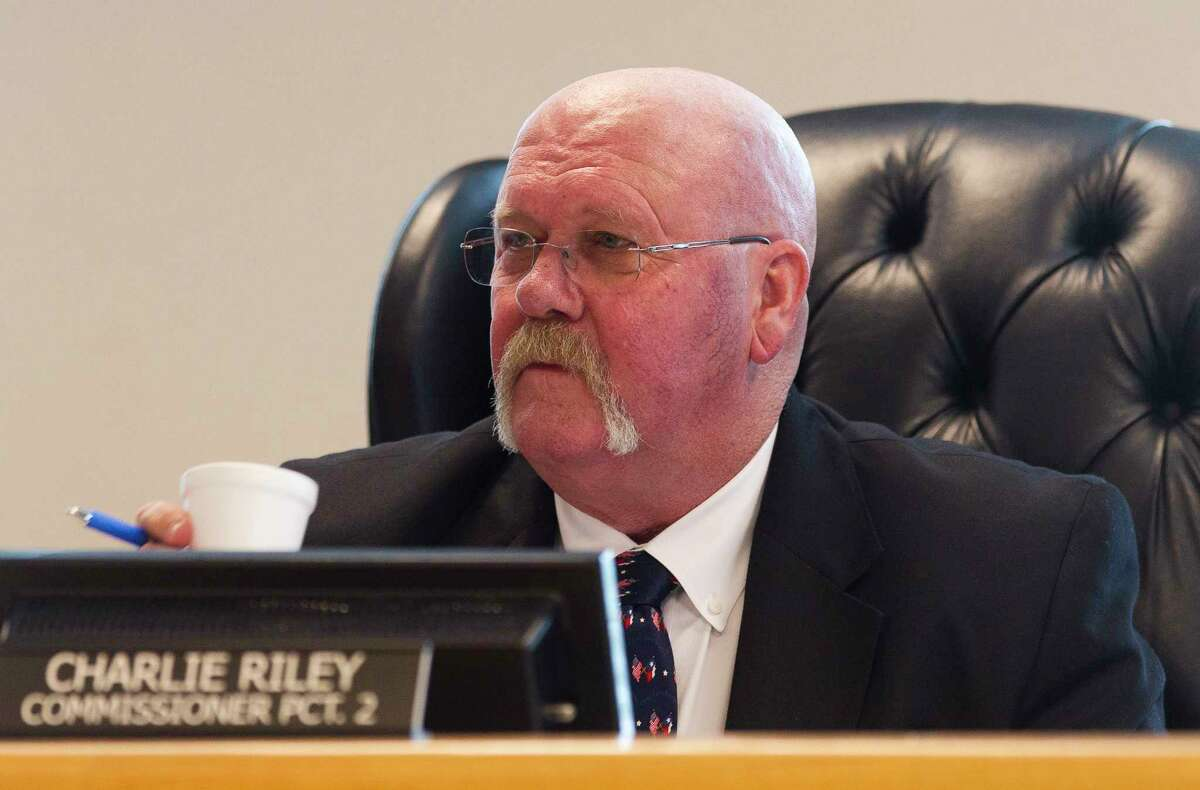 Montgomery County Precinct 2 Commissioner Charlie Riley listens during Montgomery County Commissioners Court at Alan B. Sadler Commissioners Court Building Tuesday, Jan. 10, 2017, in Conroe.