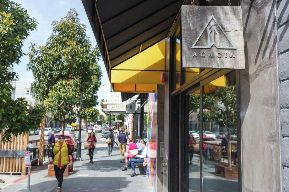 Acacia on Valencia Street, a pristine home-goods shop.