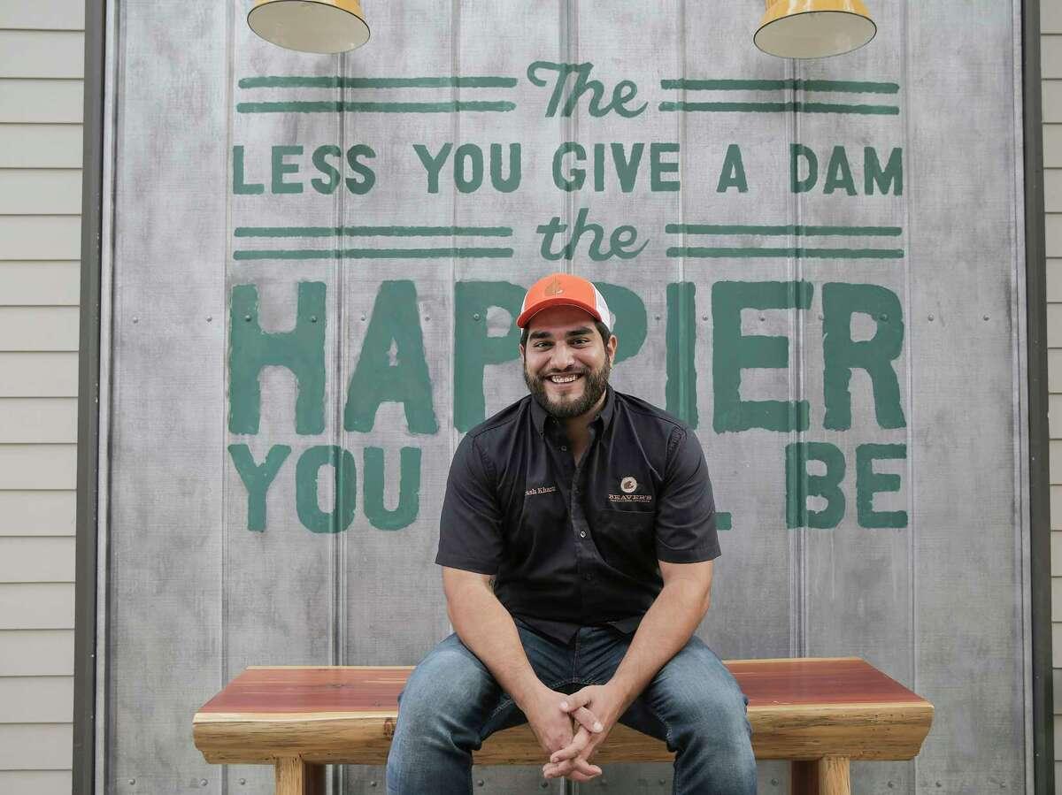 Beaver's chef, Arash Kharat, photographed at the restaurant's second location on Thursday, Dec. 22, 2016, in Houston. ( Elizabeth Conley / Houston Chronicle )