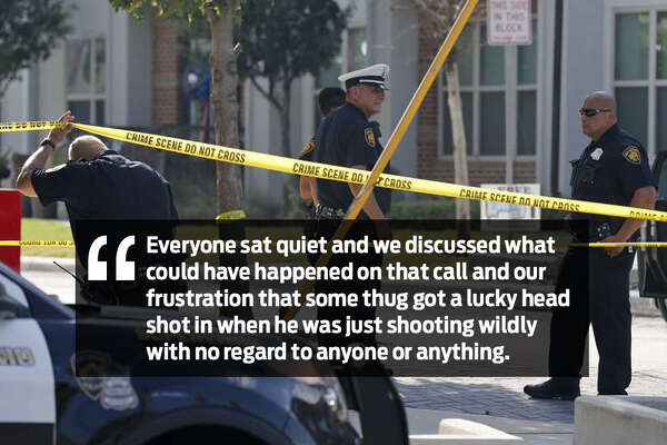Last night, there was no laughing': SAPD officer describes