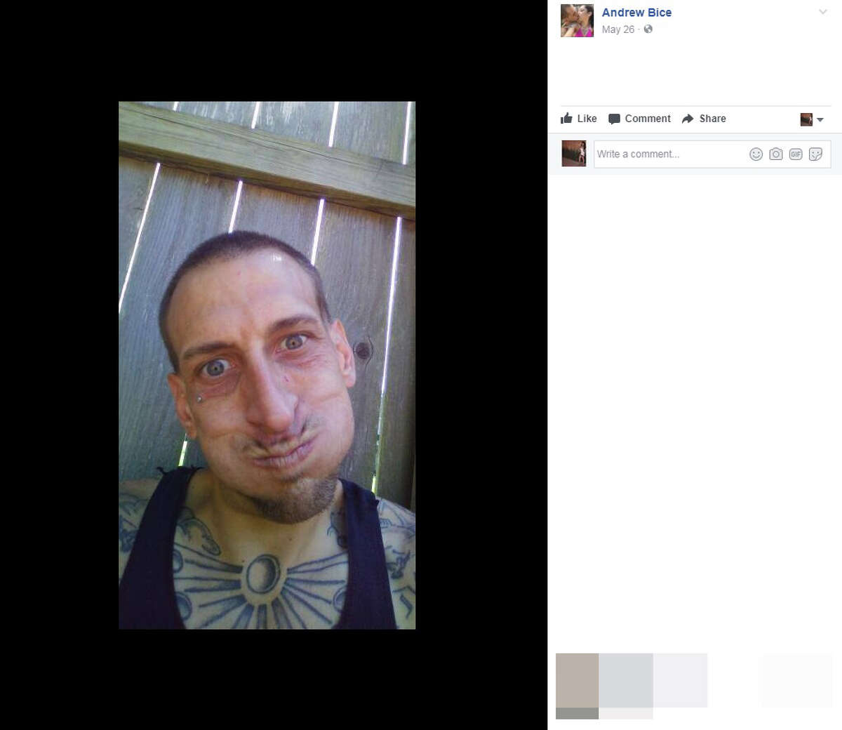 Facebook photos show the life of suspect Andrew Bice before he shot two SAPD officers, one of which was Officer Miguel Moreno, who succumbed to his injuries on June 30, 2017. Bice took his own life on June 29, 2017 following the shootout.