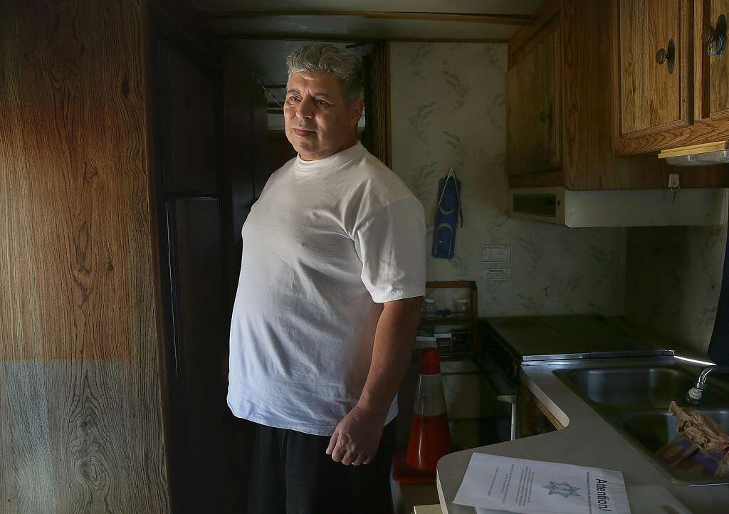 Motor Home Resident Frank Aldama Talks About The Warning He Received 72 Hour