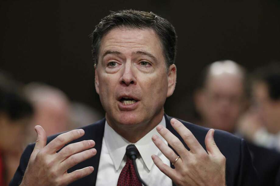 2. Former FBI Director James ComeyComey injected Clinton emails back into the news late in the campaign. Photo: Alex Brandon /Associated Press / Copyright 2017 The Associated Press. All rights reserved.