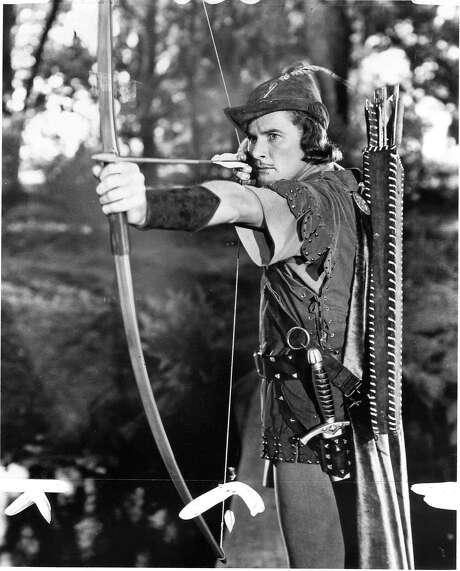 Errol Flynn in Robin Hood  Ran on: 06-14-2005 Photo caption Dummy text goes here. Dummy text goes here. Dummy text goes here. Dummy text goes here. Dummy text goes here. Dummy text goes here. Dummy text goes here. Dummy text goes here.   Ran on: 10-18-2009 Errol Flynn in his starring role as &quo;Robin Hood.&quo; Ran on: 10-18-2009 Errol Flynn in his starring role as &quo;Robin Hood.&quo;