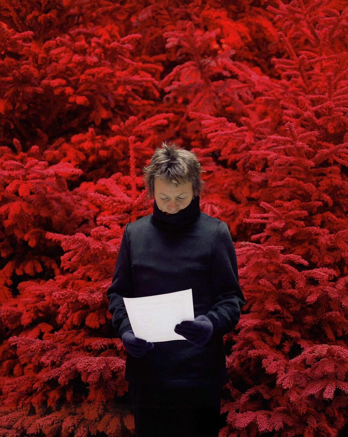 """Sophie Calle's """"Take care of yourself. Laurie Anderson""""."""