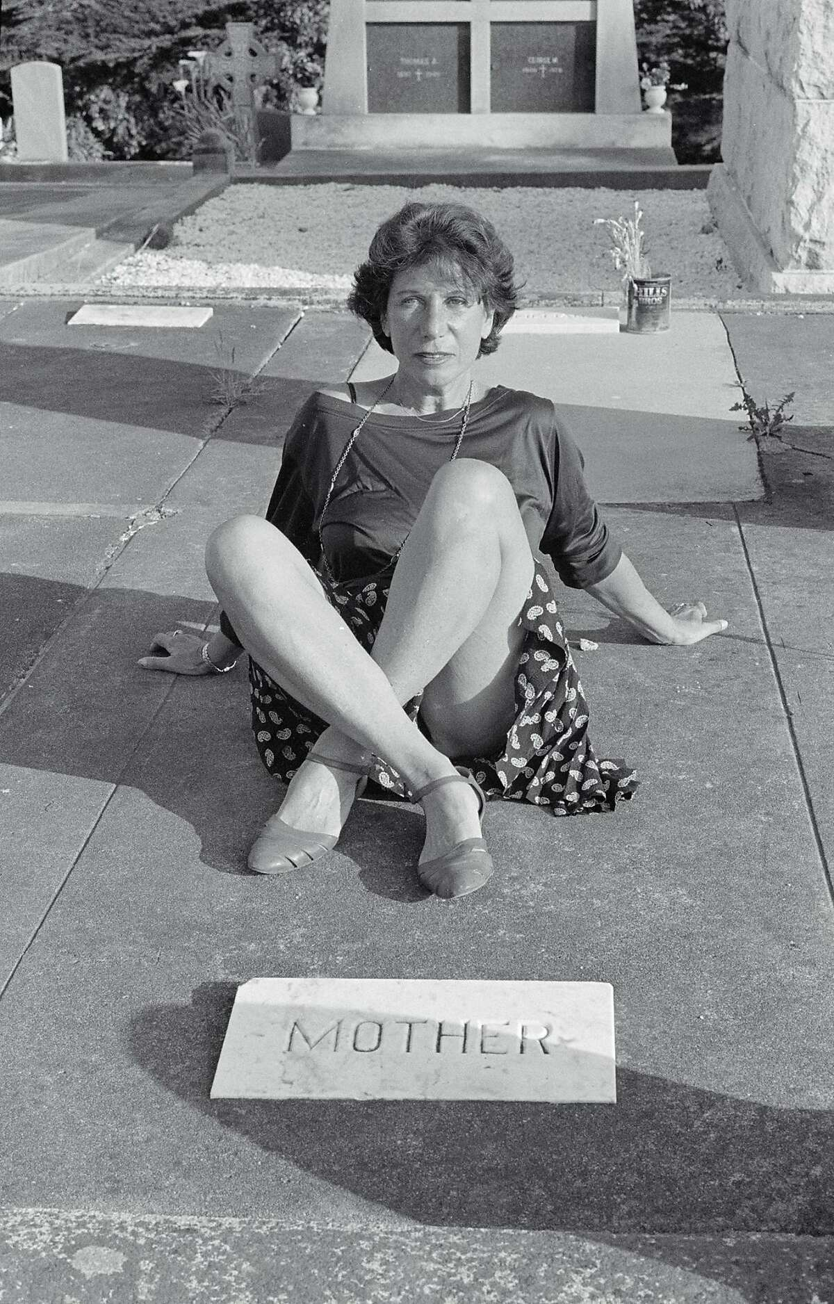 """Sophie Calle's """"Rachel Monique. Couldn't Capture Death"""" (2007, detail). """"She was successively called Rachel, Monique, Szyndler, Calle, Pagliero, Gonthier, Sindler. My mother liked to be the object of discussion. Her life did not appear in my work, and that annoyed her."""""""
