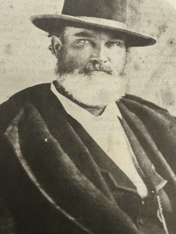John R. Baylor vowed to annihilate every Indian in Texas. / handout