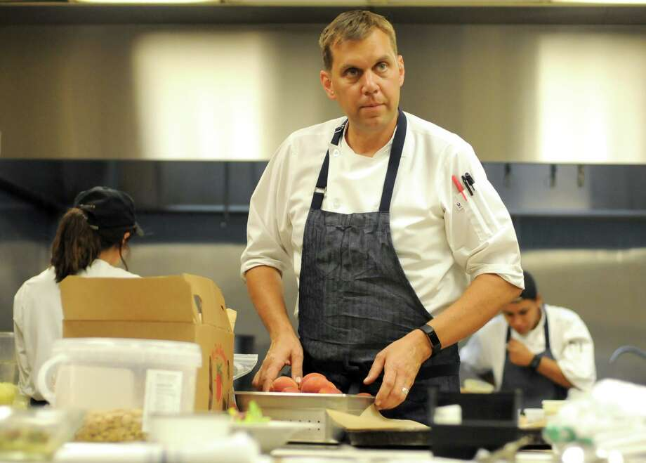 John Brand oversees culinary operations at Hotel Emma, and said staff turnover there has been very low thanks in part to a competitive pay and benefits package. Photo: Paul Stephen /San Antonio Express-News