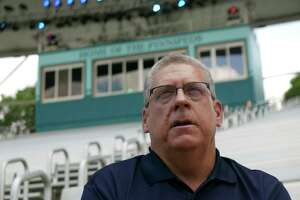 Carl Lum became president of SeaWorld San Antonio in 2016. Lum said he was leaving the park.