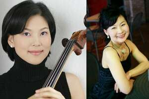Le Due Muse: cellist�Sarah Hong (l.) and pianist Makiko Ooka