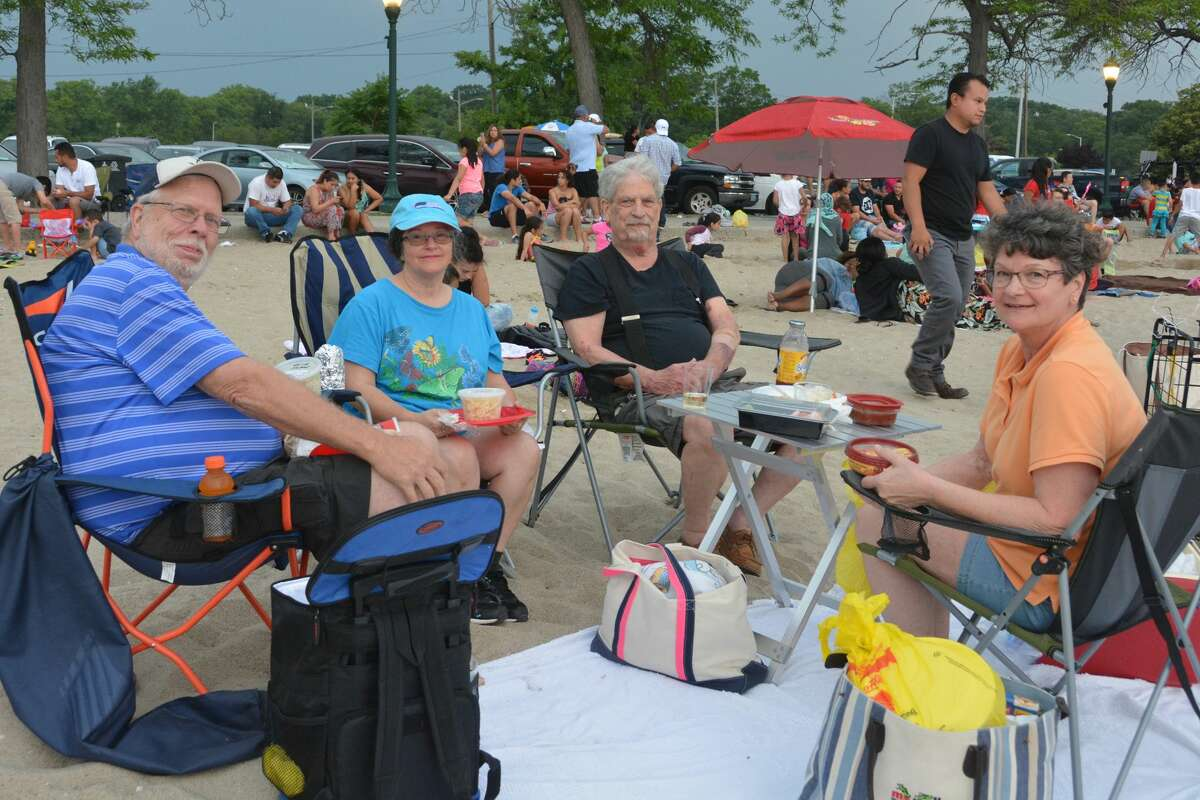 Stamford held its annual Fourth of July fireworks display on June 30, 2017. Were you SEEN watching at Cummings Park?