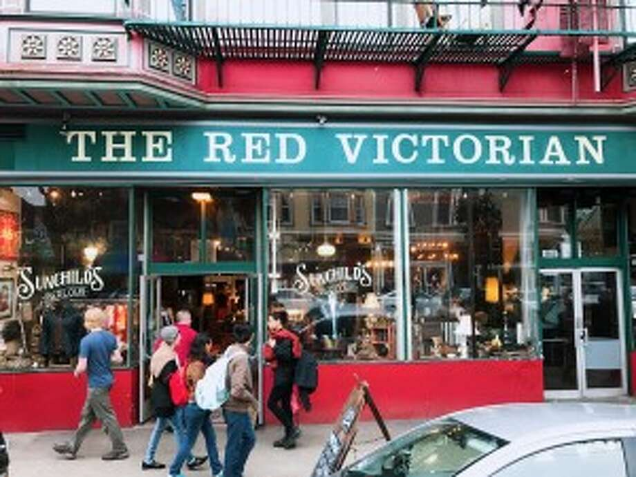 The Red Victorian: a Haight-Ashbury commune that supports creatives to connect and be in action around impactful projects. Photo: Anna Yelizarova/Peninsula Press