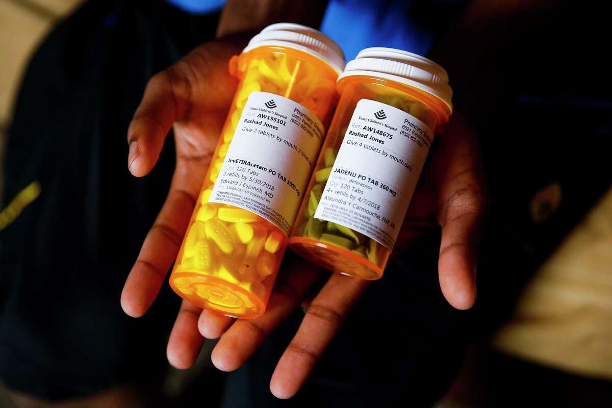 Rashad must also take medications for his seizures, which are paid for by Medicaid.