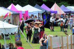 The Midsummer Fantasy Renaissance Faire at Warsaw Park in Ansonia, Conn. on Saturday July 1, 2017. The faire continues on Sunday July 2 from 11:00 a.m. - 6:30 p.m.