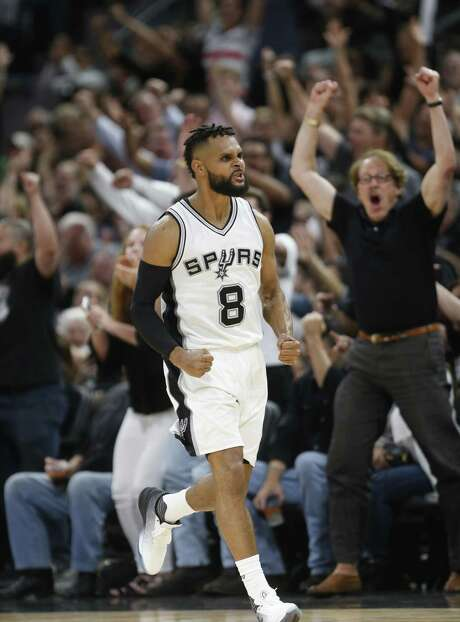 Since Tony Parker's injury will likely keep him out for a significant amount of time, re-signing backup point guard Patty Mills quickly became a top priority. Photo: Ronald Cortes /Getty Images / 2017 Getty Images