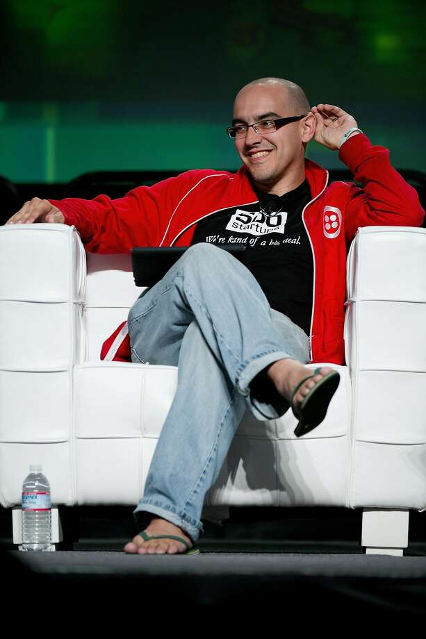 Dave McClure, founding general partner at 500 Startups, speaks during a group discussion at the TechCrunch Disrupt conference in San Francisco in 2011. He has resigned as general partner at 500 Startups. Photo: David Paul Morris, Bloomberg