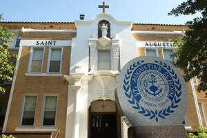 St. Augustine High School   Grades: 9 - 12  Principal: Mrs. Olga P.Gentry  Asst. Principal: Mr. Rodrigo Romo  1300 Galveston St. 78040  Phone: (956) 724-8131
