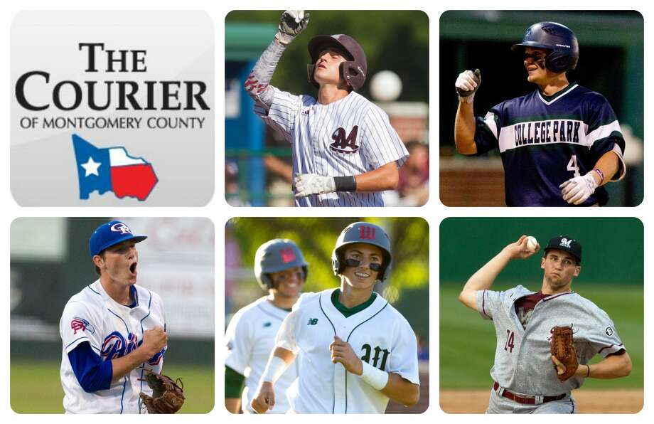 Magnolia's Jordan Groshans, College Park's Eric Bordovsky, Oak Ridge's Tyler Davis, The Woodlands' Drew Romo and Magnolia's Adam Kloffenstein are The Courier's nominees for Player of the Year.