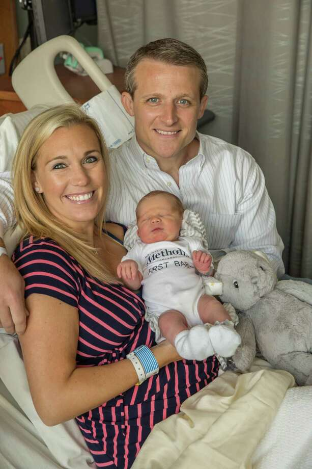 Kristina and Josh Neal with son, Jaxon, the first baby born at the new Houston Methodist The Woodlands Hospital, which opened June 26.Click through the slideshow to see the latest Houston hospital ratings.  Photo: Submitted / ©2017 Richard Carson