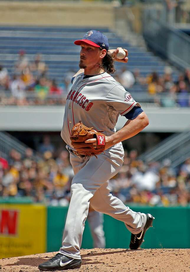 Jeff Samardzija entered the game with the third-worst run support in the majors. Photo: Justin K. Aller, Getty Images