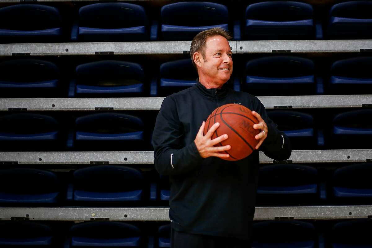 Ben Braun, former Cal basketball coach and current director of player development for the Oakland Soldiers AAU team stands for a portrait in McKeon Pavilion at St. Mary's College in Moraga on Thursday, June 29, 2017.