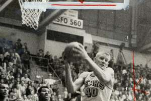 Ran on: 03-22-2005  Darrall Imhoff led Cal to the NCAA title in 1959. Imhoff recently was inducted into the Pac-10's men's basketball Hall of Honor.
