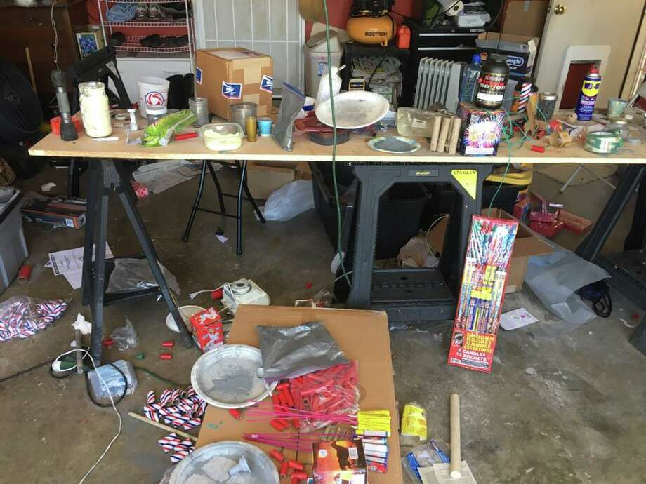 Police seized illegal fireworks in Hayward in a sting operation on June 30, 2017. Photo: Courtesy/Hayward Police