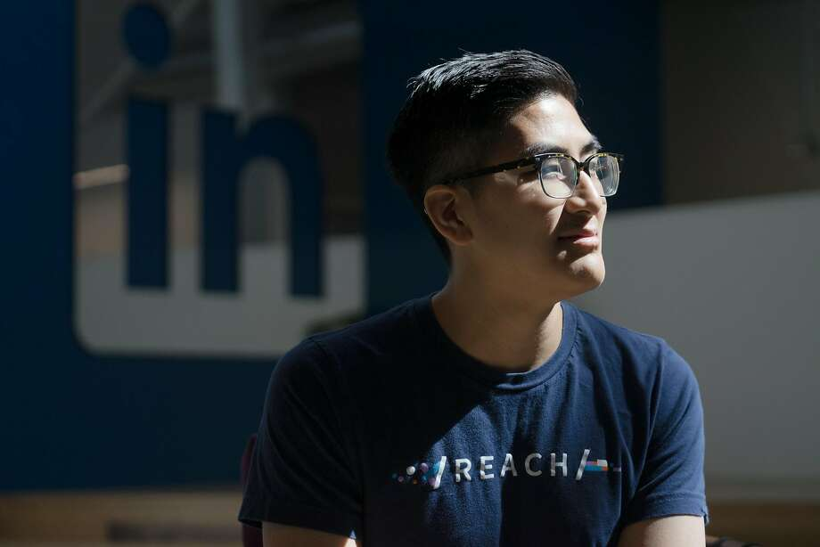 Preston Phan was homeless before he got a job at LinkedIn's Reach program with the help of Code Tenderloin. Photo: James Tensuan, Special To The Chronicle