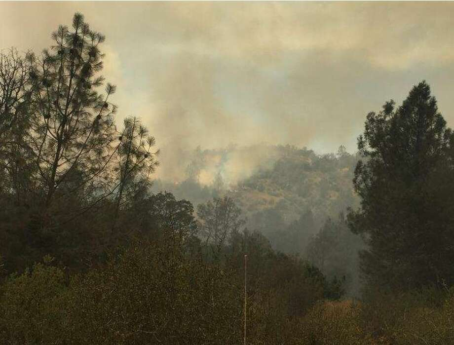 The Spring fire as photographed July 2, 2017. Photo: CalFire