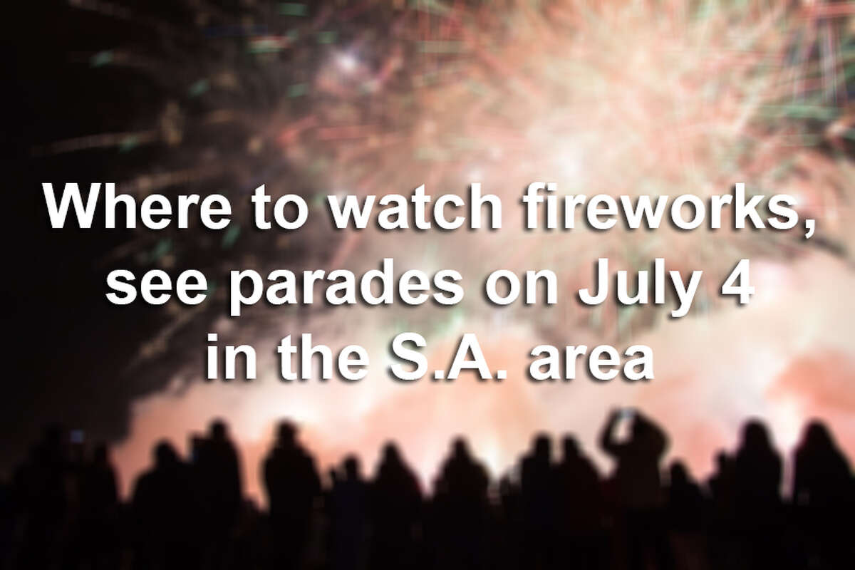 Keep clicking to see where to celebrate America this week in the Alamo City.