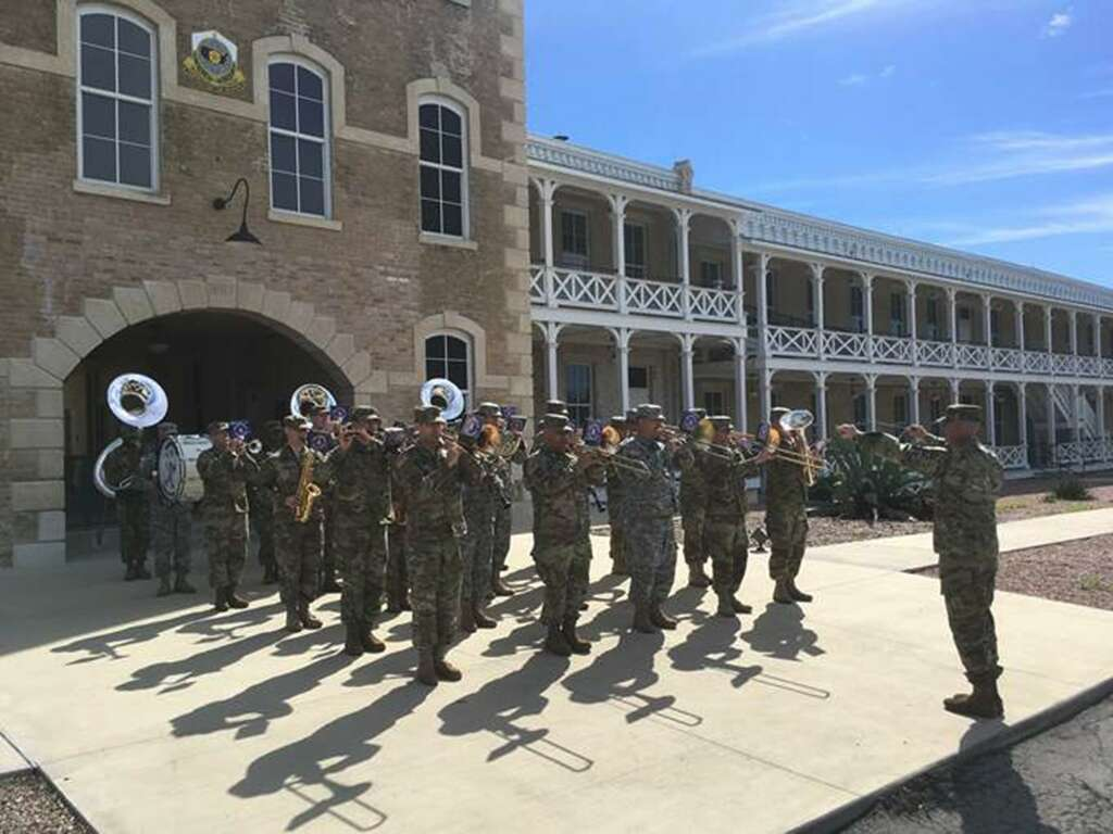 323rd Army Band Filming A Video For Its Facebook Page Https Www