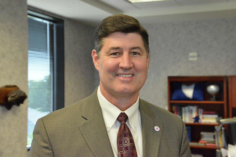 FILE - An official portrait of Katy ISD Superintendent Lance Hindt. Tuesday, a man accused Hindt of bullying him in school while they were children. Hindt has denied the allegations. / Stratford Booster Club